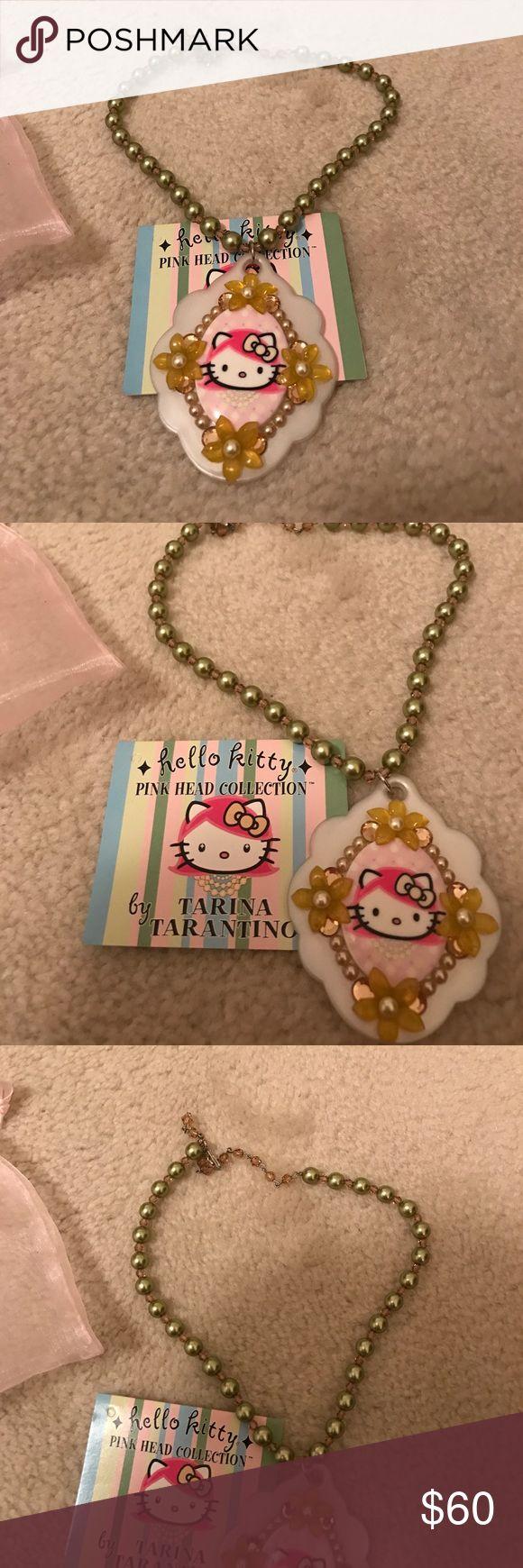 NEW TARINA TARANTINO Hello Kitty Necklace RARE Nwt rare necklace from the Hello Kitty Pink Head Collection by TARINA Tarantino Tarina Tarantino Jewelry