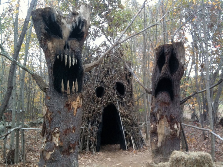 389 best Halloween images on Pinterest Halloween prop, Halloween - haunted forest ideas for halloween