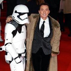 Bruno Tonioli attends the Star Wars: The Last Jedi European Premiere