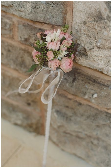 flower girl, flower wand from Signature floral design