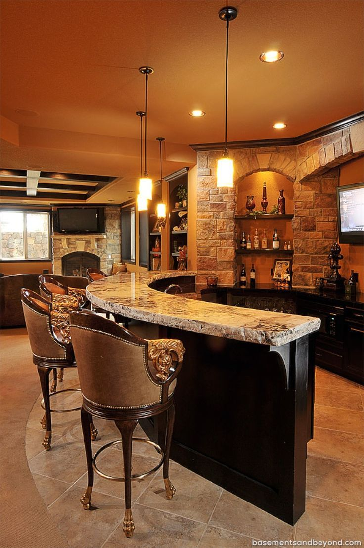 Best 25 home bar designs ideas on pinterest bars for home bar designs and man cave bar designs - Basement bar layout ideas ...