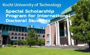Special Scholarship Program for International Doctoral Students in Japan, and applications are submitted till September 18, 2014. Kochi University of Technology offers special scholarship program for international students to pursue doctoral degree within the department of Engineering at Graduate School of Engineering. - See more at: http://www.scholarshipsbar.com/special-scholarship-program-for-international-doctoral-students.html#sthash.foK28ZDu.dpuf