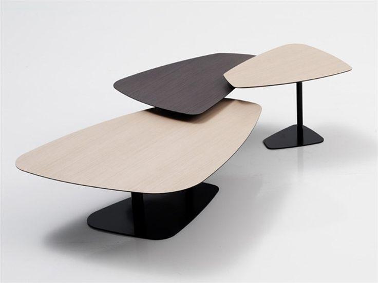 Mesas de centro Rock, disponibles en diferentes medidas y acabados.