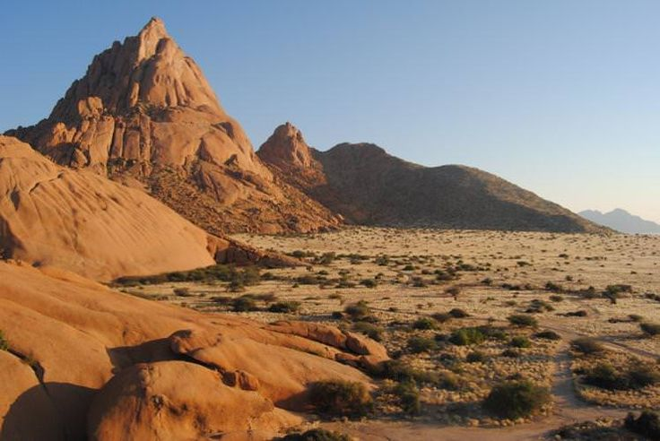 Spitzkoppe, the 'Matterhorn of Africa', Damaraland, Namibia. Image by Rachel Hobday / CC BY 2.0
