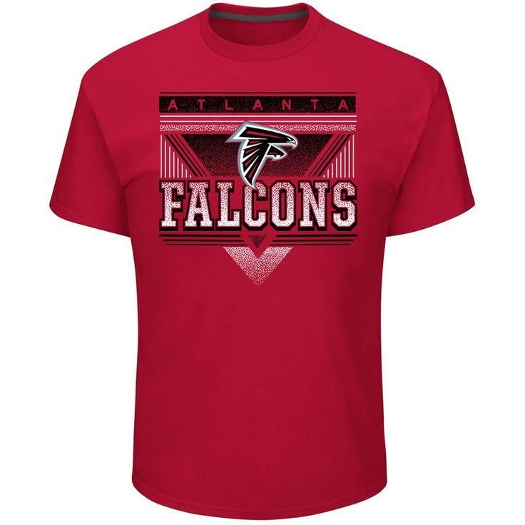 Atlanta Falcons Majestic Keep Score T-Shirt - Red