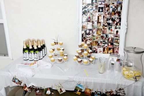 Birthday Party {Adult Birthday Party Ideas}Birthday Bash, Adultbirthday, Adult Birthday Parties, Pictures Boards, Birthday Parties Ideas, Birthday Party Ideas, Baby Photos, Pictures Frames, 30Th Birthday