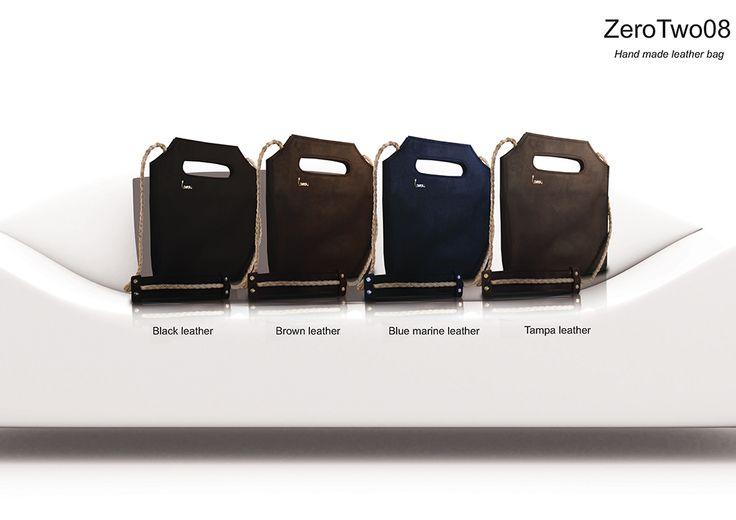 handmade leather bag. http://larou.gr/product/zerotwo08/