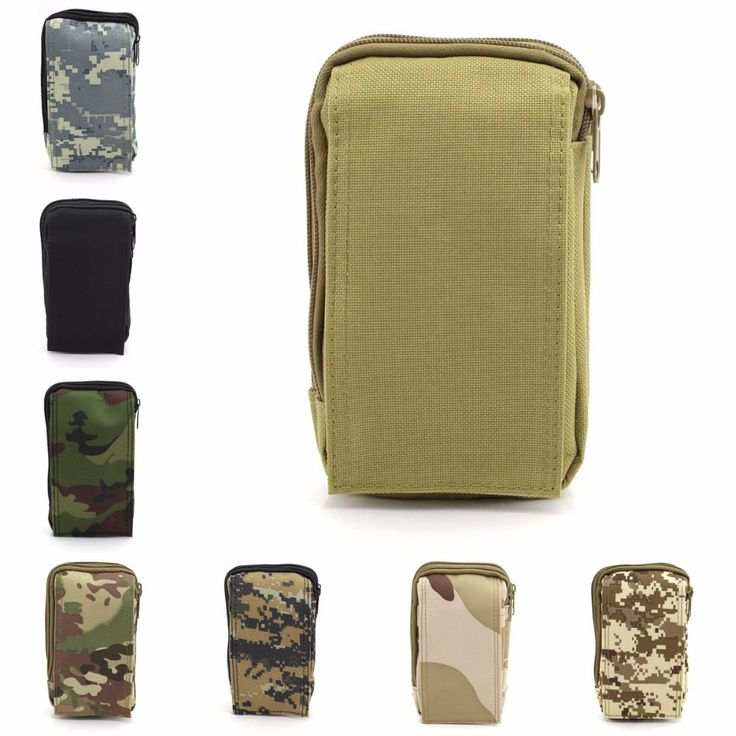 Outdoor Multi-Function Tools Bag MOLLE Tactical Pouch Backpack Hanging Military Accessories Nylon Bag