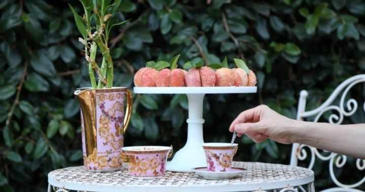 Italian Peach Cookies Recipe - Armenian Cuisine by Heghineh
