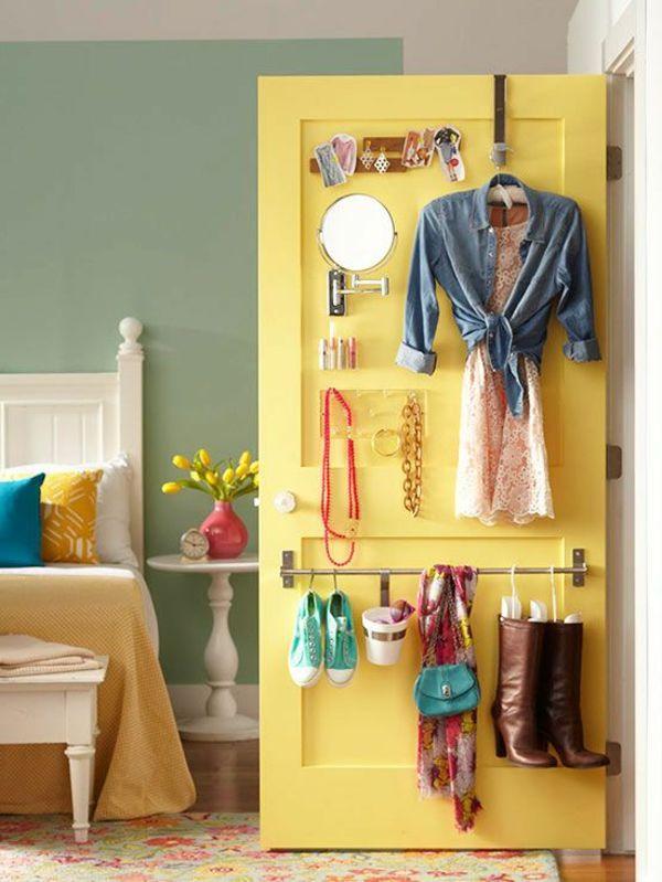 Die besten 25+ Leben auf kleinem Raum Ideen auf Pinterest - Schlafzimmer Einrichten Kleiner Raum