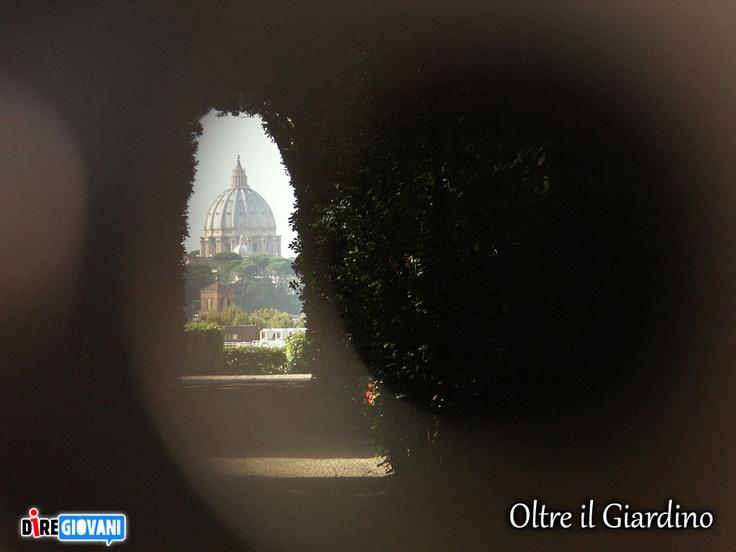 Over the garden - Roma, Italy