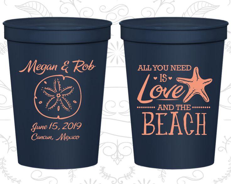 Personalized Stadium Cups, Wedding Cups, Plastic Cups, Stadium Cups, Personalized Cups, Wedding Favor Cups, Personalized Plastic Cups (C414)
