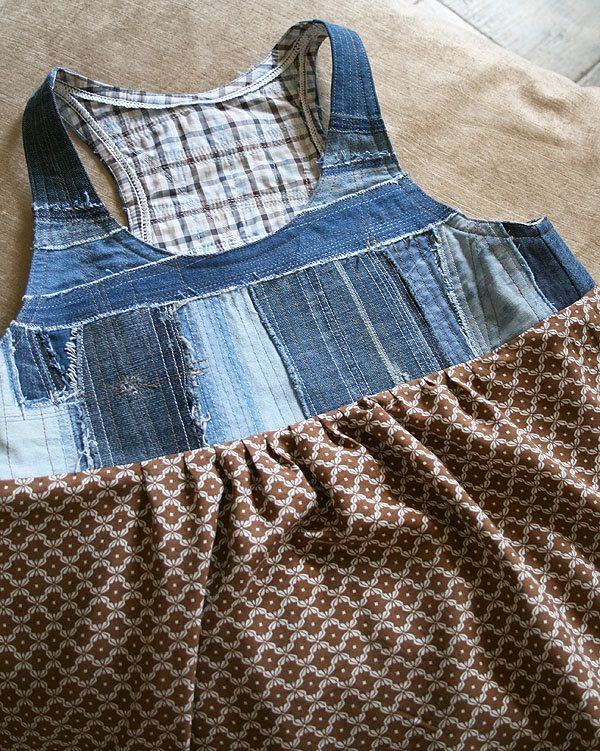"""A sleeveless dress """"Denim and viscose"""" by DenimAge on Etsy"""