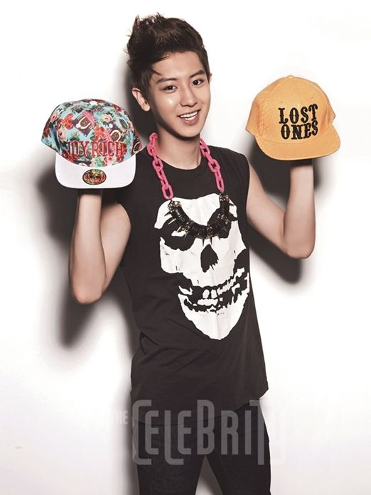 Chanyeol ♡ EXO- The Celebrity Magazine October Issue '13