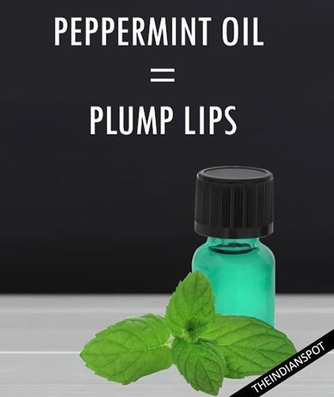 Peppermint has natural anti-inflammatory properties that help relieve and soothe dry, cracked lips. Due to the cooling sensation it gives the lips a light stinging sensation that causes it to numb and become plumper. Take a lip brush and then dip into the pure peppermint oil. Use the lip brush to apply the peppermint oil on your upper and lower lip or add 1 drop of pure peppermint oil to a tube of lip gloss. Apply as normal. Thanks to the peppermint, you're lips will feel slightly tingly and…