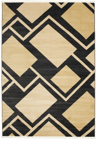 Per - Black rug 230x160 made of PP Frieze - Find affordable rugs at RugVista.com £150