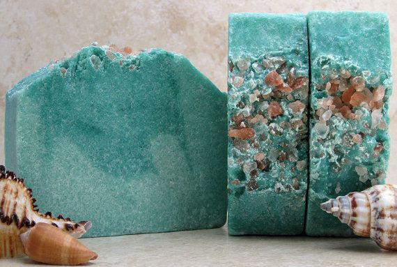 Salt Soap Mediterranean Spa Cold Process Sea by RainTreeBotanicals