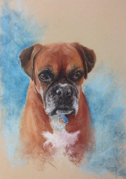 Ruby - pastel painting