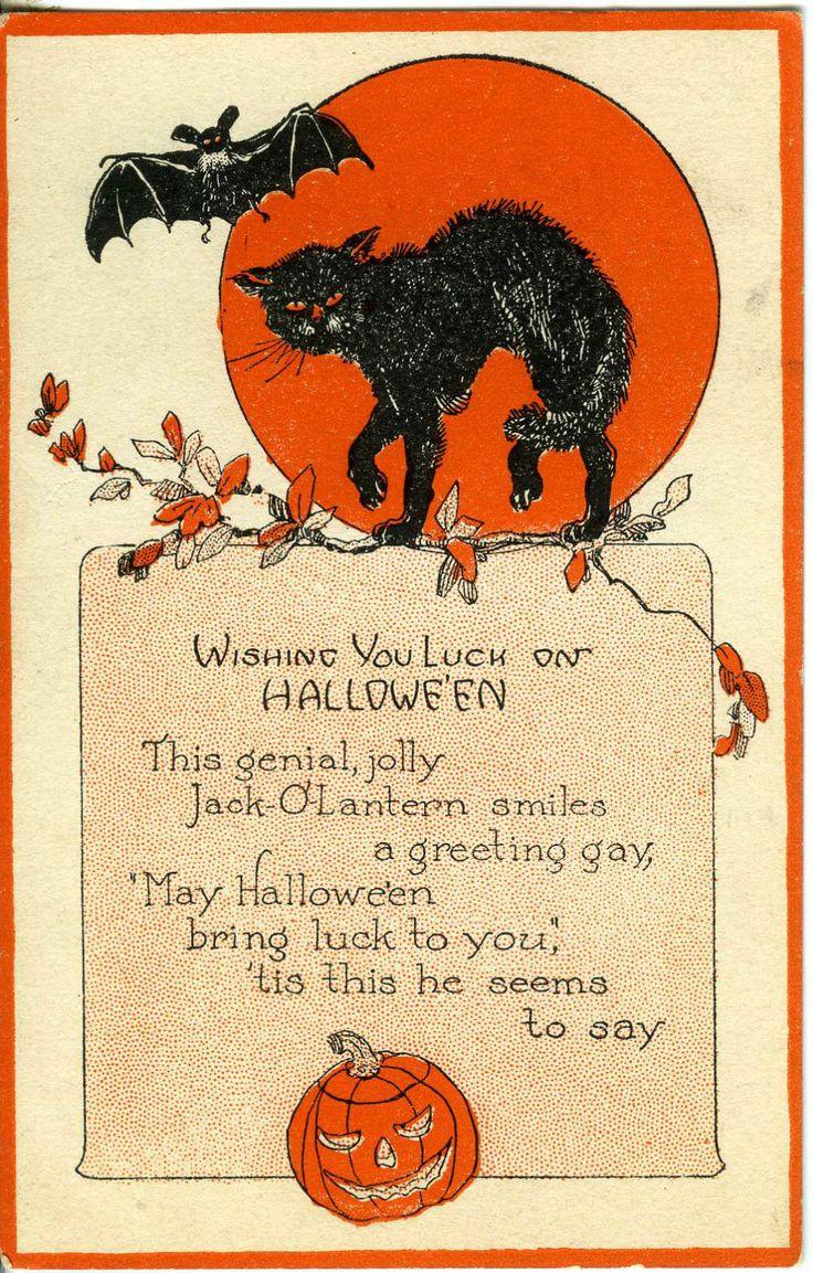 51 Best Vintage Halloween Images On Pinterest