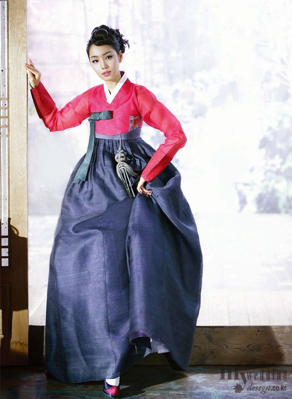 Hanbok Design by Eun Sook Yoon