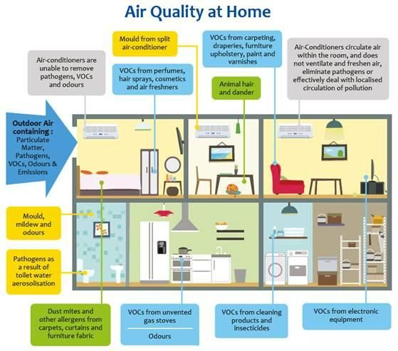 16 Best Indoor Air Quality Facts And Tips Images On