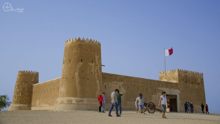 https://flic.kr/p/owjMY5 | Zubarah Fort, Doha, Qatar | Al Zubarah archaeological site was inscribed into the UNESCO World Heritage List during the session of the 37th world heritage committee  in Phnom Penh, Combodia.The town was founded by merchants from Kuwait in the mid 18th century.   Zubarah was once a successful center of global trade and pearl fishing positioned midway between the Strait of Hormuz and the west arm of the Persian Gulf. It is one of the largest and best preserved…