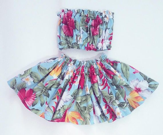 Check out this item in my Etsy shop https://www.etsy.com/listing/542168174/kids-hawaiian-hula-skirt-girls-hawaiian