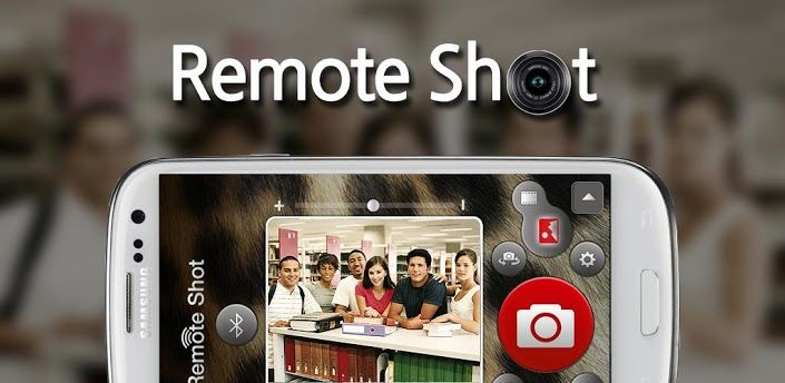 Remotely Control Your iPhone, Android Camera With Remote Shot