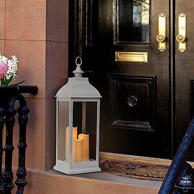 ELAMBIA Laterne 3 flammenlose Kerzen outdoorgeeignet H. ca. 75cm online…