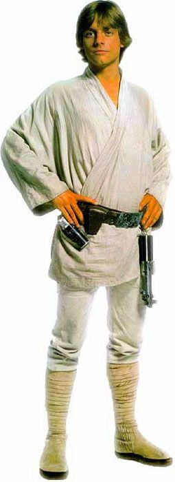 Luke Skywalker Costume Reference