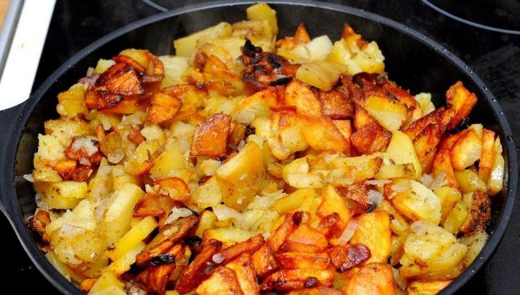 Как жарить картошку на сковороде                                        http://vybratpravilno.ru/kak-zharit-kartoshku-na-skovorode.html