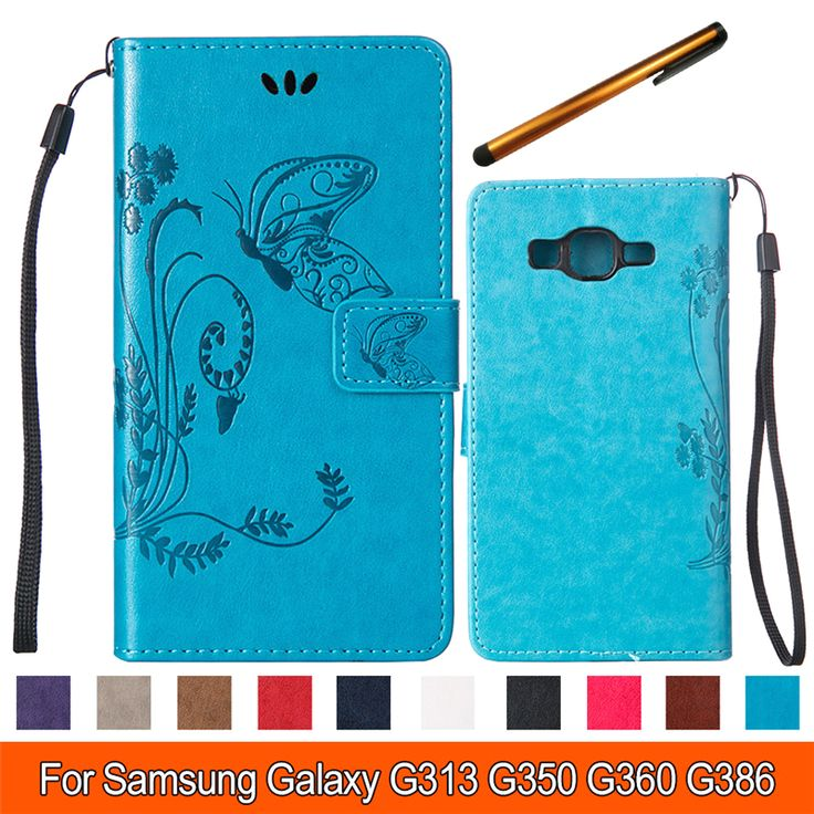 Find More Phone Bags & Cases Information about Butterfly Wallet PU Leather Phone Case for Samsung G350 Flip Phone Bag Cover stand cases with Card Holder Coque for Samsung G350,High Quality phone case fashion,China phone cases lg Suppliers, Cheap phone case make from TopArmor Store on Aliexpress.com