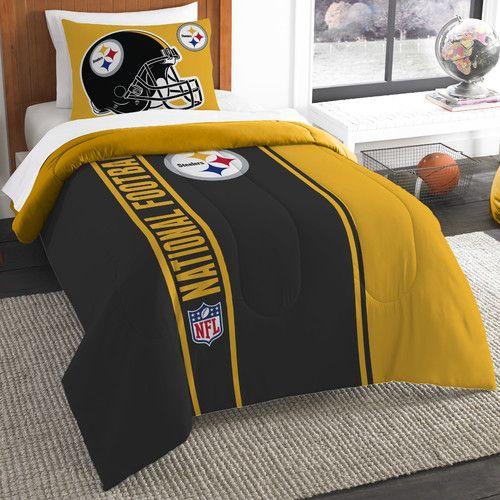Found it at Wayfair.ca - NFL Steelers Helmet Comforter Set
