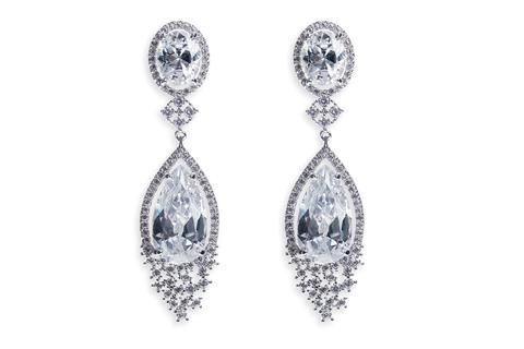 Beverly Hills Earrings by Ivory & Co