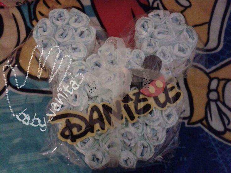 https://m.facebook.com/babyvanita Fommy foamy crepla decorazioni cameretta bambini fiocco nascita baby gift Pannolini diaper Daniele disney topolino Mickey