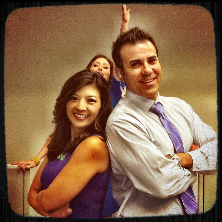 Great Snapshot Of ABC30's AM Live Team, Margot Kim And