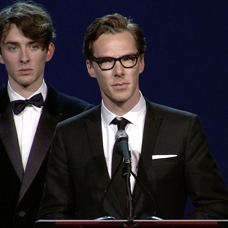 "Benedict Cumberbatch Gives a Passionate Speech on Playing a ""Gay Icon"""