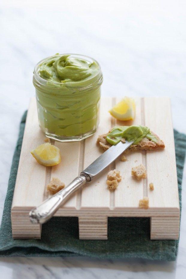 maionese vegana di avocado