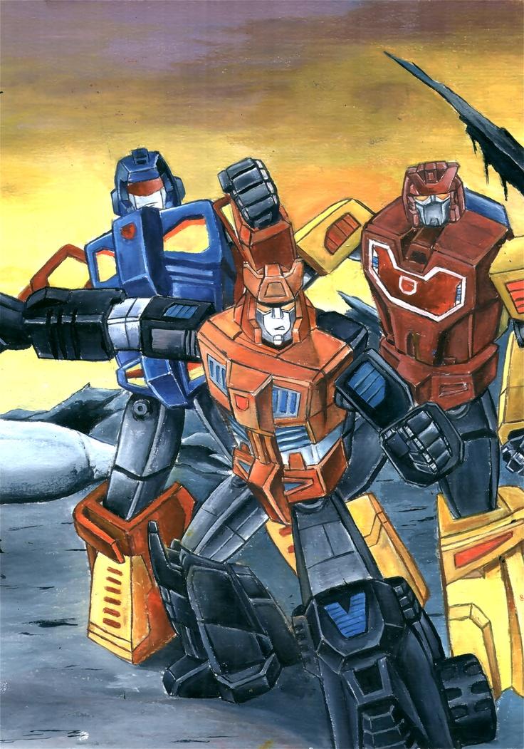Transformers Generation 1 Motorvators by ~grim1978 on deviantART