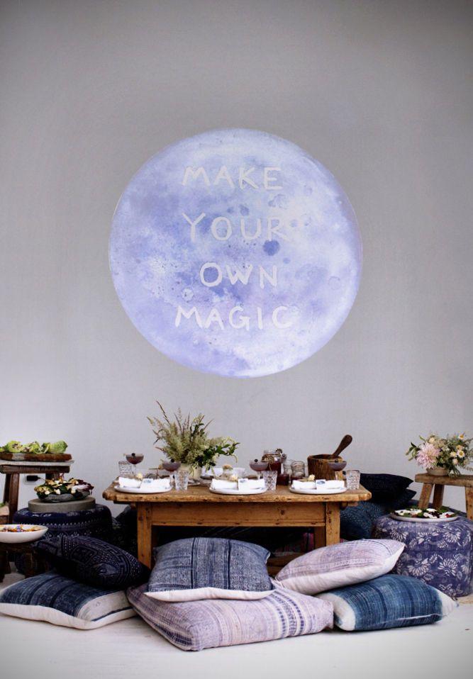 moon dinner party // #designlovefest