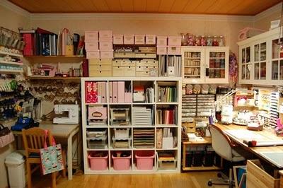 Carola's craft room - Carolan askarteluhuone