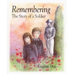 The story of a WWI soldier who goes to war in the Great War, and doesn't come back. Told through the eyes of young children who ask about the man in the photo on the shelf. Great Art work, hard hitting story. Perfect story to tell the origins of Remembrance and Veterans Day to young children. Ages 5 to 15.