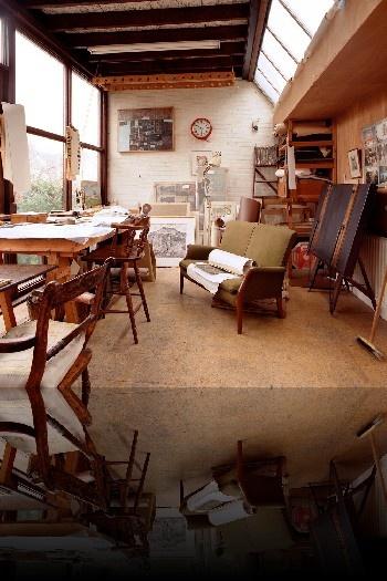 edward bawden's studio