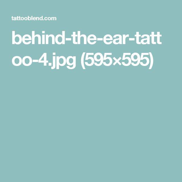 behind-the-ear-tattoo-4.jpg (595×595)