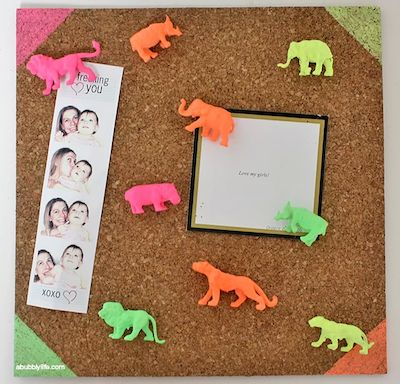 If you've seen those tiny toy animals at the craft store and aren't sure what to do with them, check out this collection of plastic animal crafts!