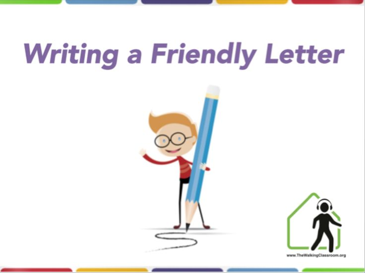 Gallery For How To Write A Friendly Letter Powerpoint