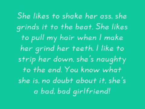 lyrics about being in a bad relationship