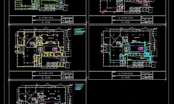 Hotel Ground Floor Lighting And Power Layout Plan Autocad Template Dwg Layout How To Plan Ground Floor