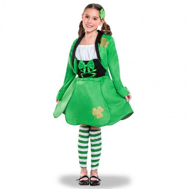 Déguisement Elfe Saint Patrick's pour fille #costumespetitsenfants #nouveauté2017