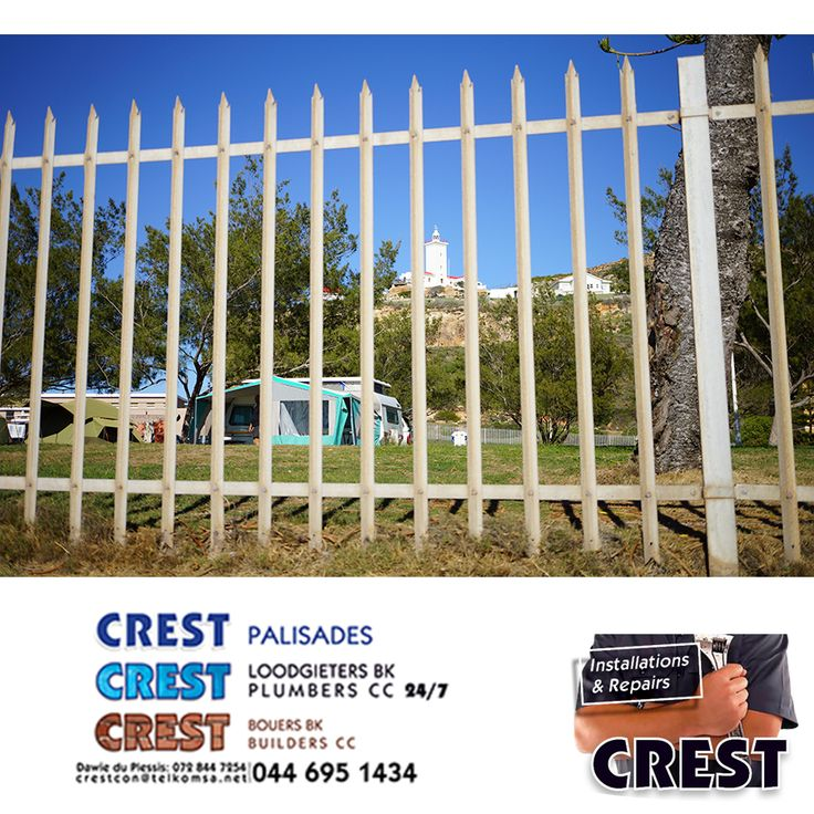 We manufacture and install Palisades for homes and business.